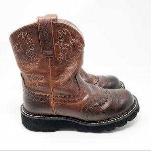 Ariat Shoes - Ariat FatBaby Saddle Boots - 7.5